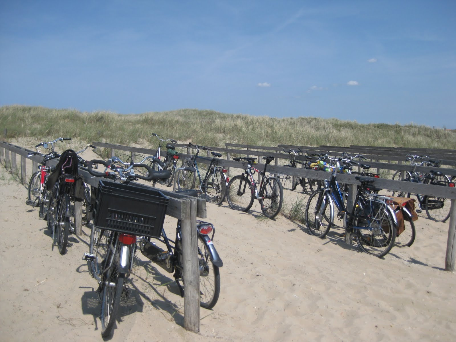 Bike park in Texel