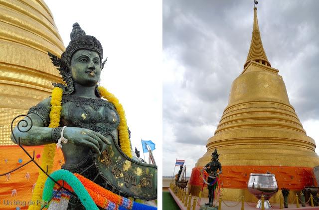 Golden Mount - Montaña Dorada - Templo Bangkok (Tailandia)