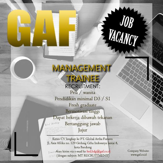 Lowongan Kerja GAF Bandung Februari 2017