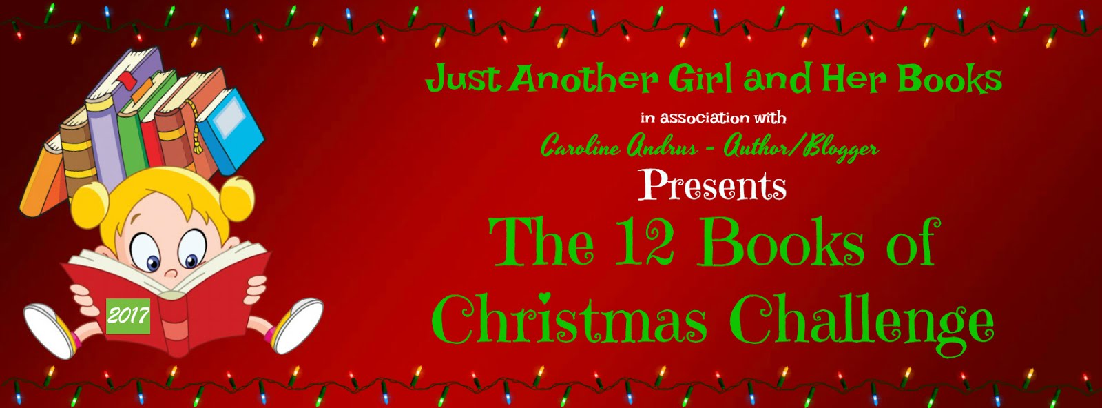 Christmas Challenge.Just Another Girl And Her Books 12 Books Of Christmas Challenge