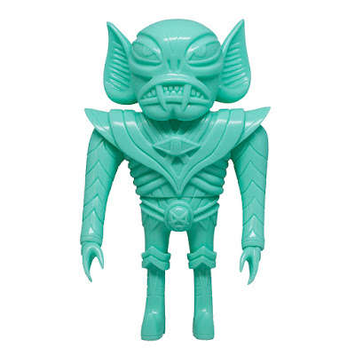 Glampyre Blank Teal Edition Vinyl Figure by Martin Ontiveros x Toy Art Gallery