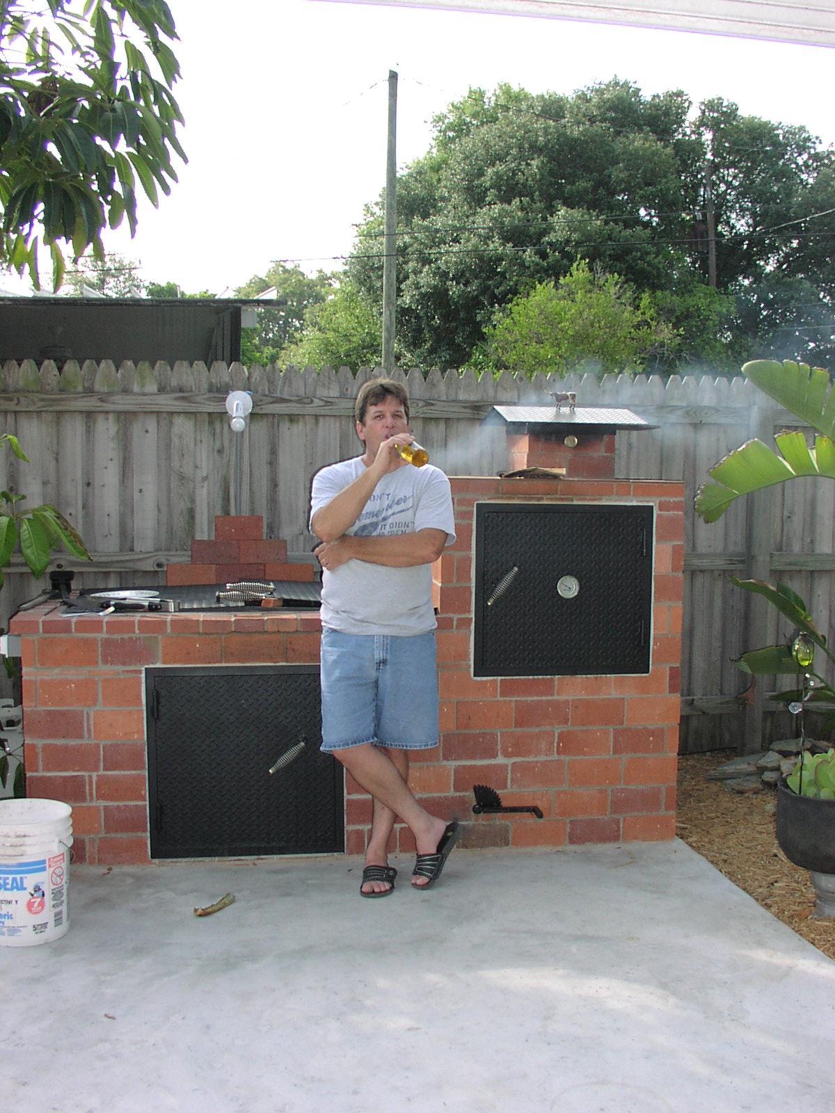 Brick Barbecue Pits | Joy Studio Design Gallery - Best Design