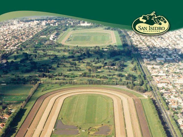 Hipódromo de San Isidro vista aérea