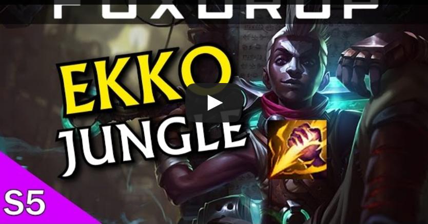 Ekko Jungle League Build Mobafire Wwwpicsbudcom