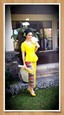 Trend Kebaya Bali 2015