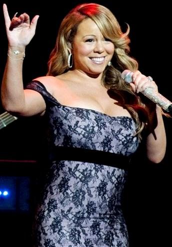 Foto de Mariah Carey en concierto