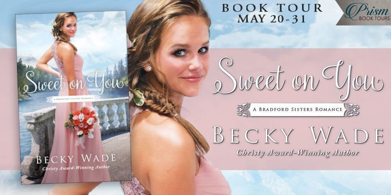 We're launching the Book Tour for SWEET ON YOU by Becky Wade!