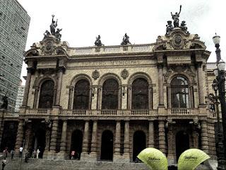 O Teatro Municipal de São Paulo