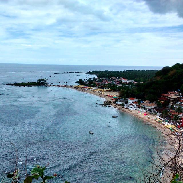 Vista do Mirante - Morro de São Paulo - Bahia - Brasil, Praia, mar, sol, férias