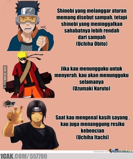 Foto Kata Naruto Tentang Cinta