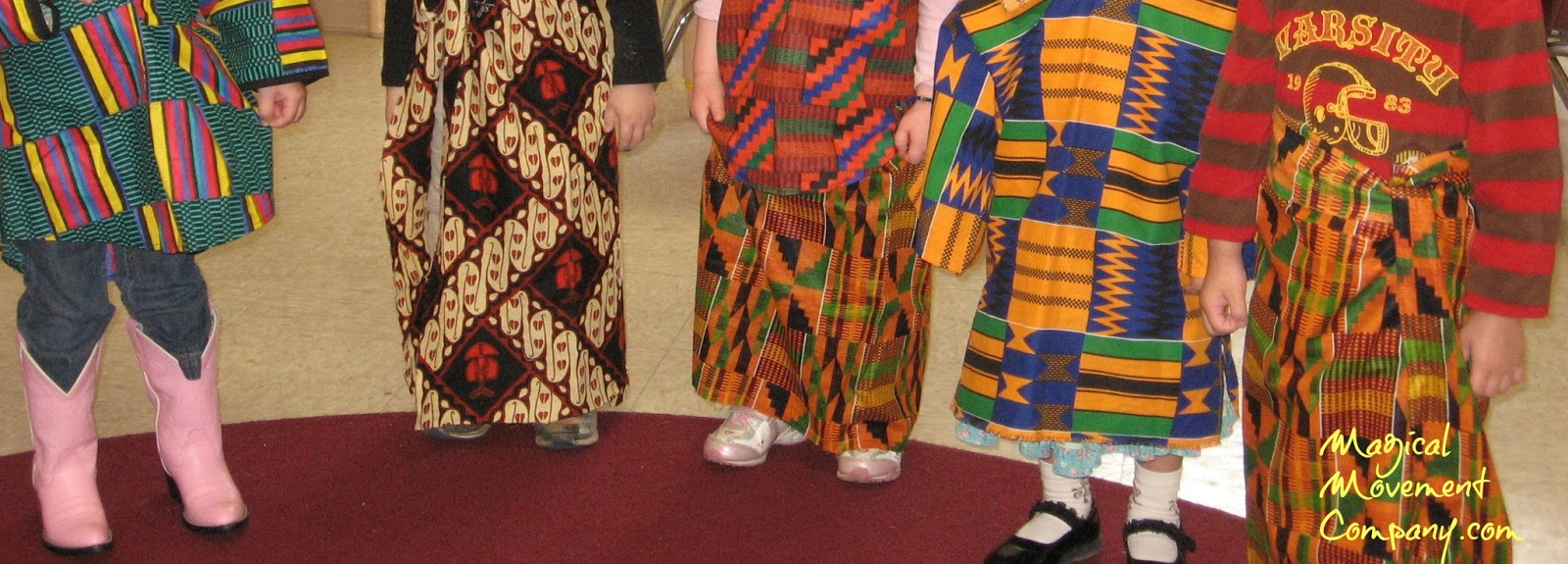 Musical Story for Preschoolers to Enjoy: African Inspired