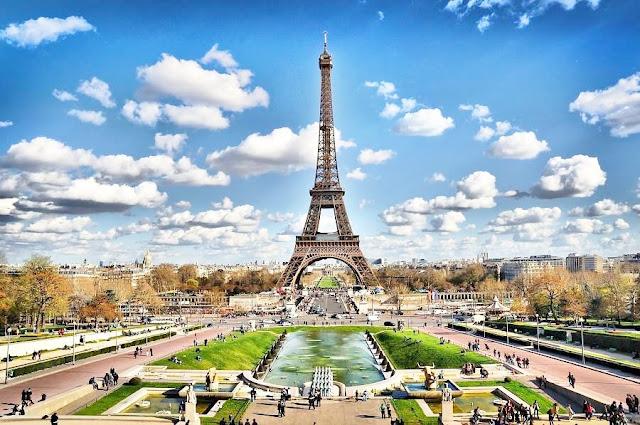 stolica francji, wieża Eiffla