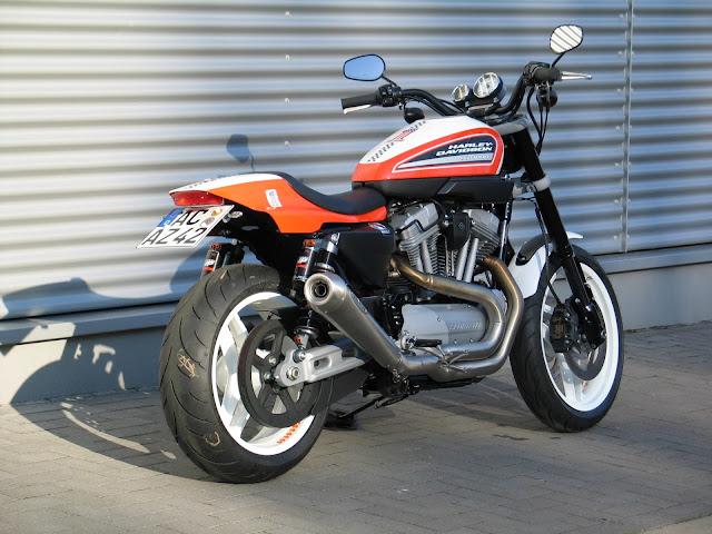 Harley-Davidson XR1200 back look