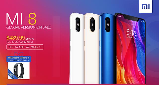 promoção da Xiaomi na Gearbest