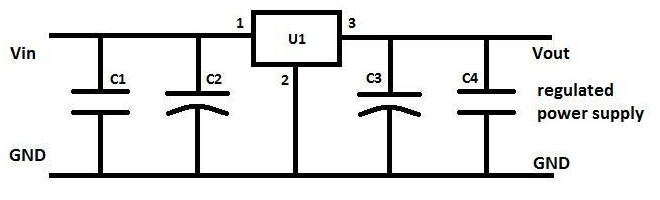Ic 7805 Voltage Regulator Ic Working Description And Pin Out Diagram