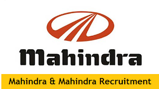 Mahindra & Mahindra Recruitment