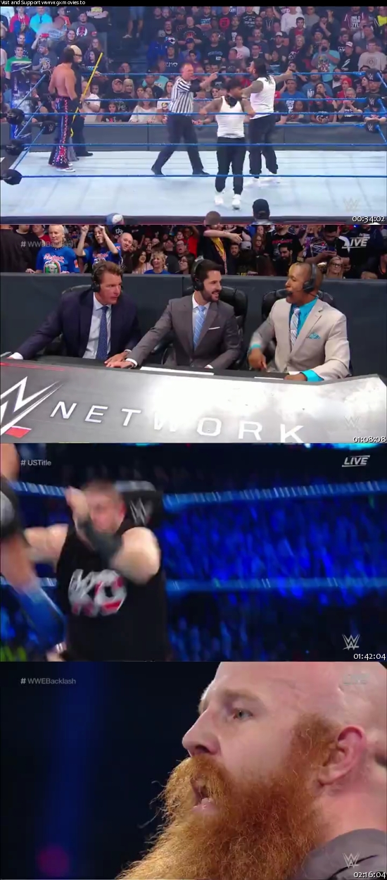 WWE Backlash 2017 PPV 480p WEBRip
