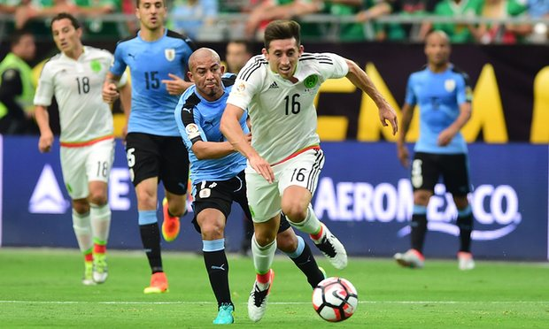 Meksiko 3-1 Uruguay : Salah Nada Berujung Petaka