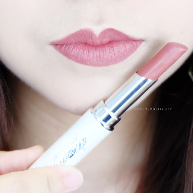 lip on lip matte rosie lipstick review