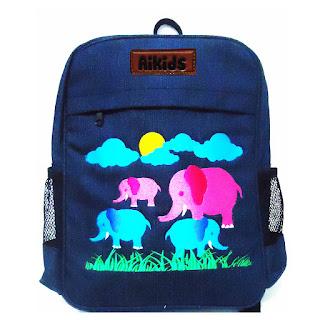 tas ransel anak, tas sekolah anak, grosir tas aikids