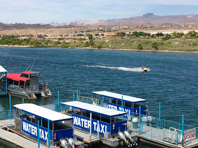 The Colorado River from Laughlin's Riverwalk