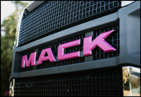 Mack Anthem Pink Lady Grill