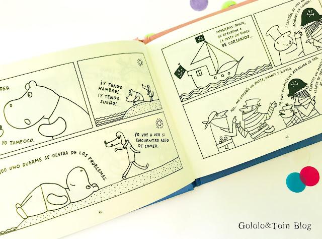 Gucho y César cómic infantil polaco