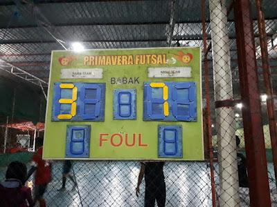 Hajar SRB, Team Futsal KCS Melaju di Babak Selanjutnya