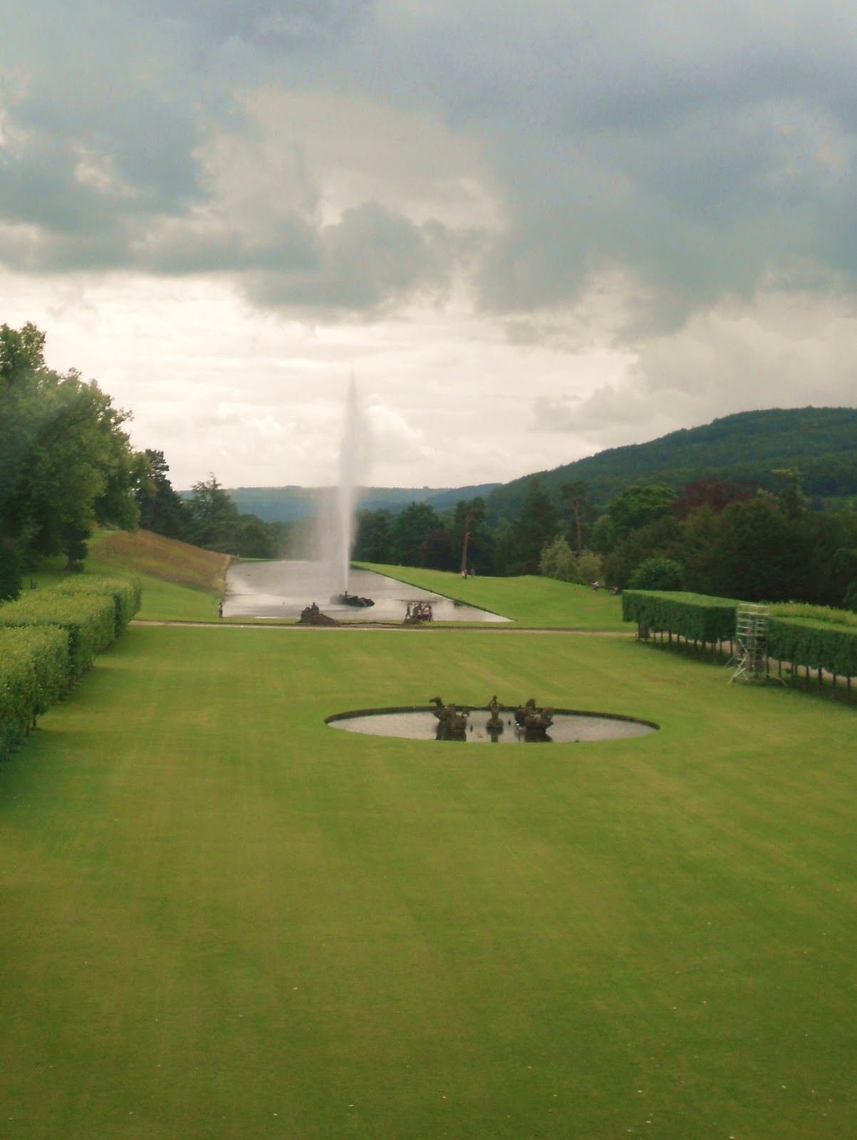 Chatsworth House Waterfall: One More Dawn: Chatsworth House