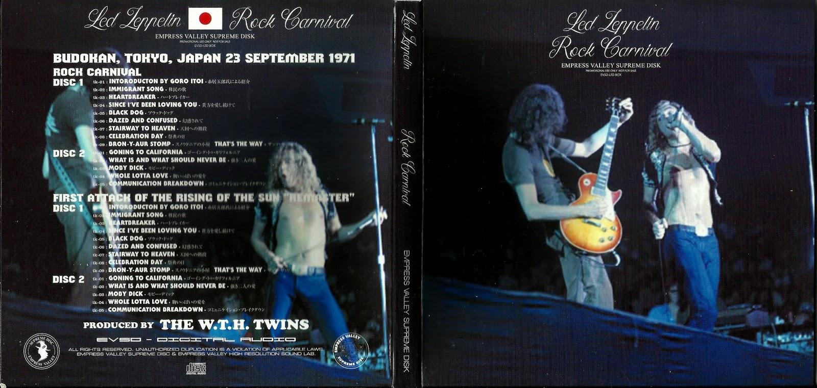 RELIQUARY: Led Zeppelin [1971 09 23] Rock Carnival (2016 EVSD)