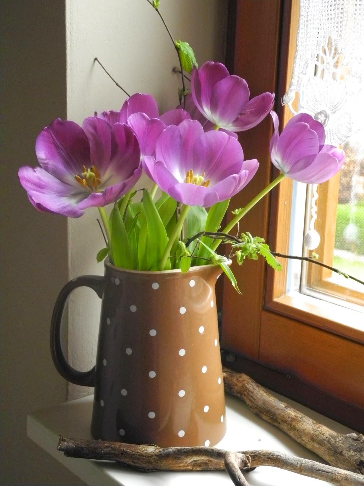 Schmiedegarten Tulpen in der Vase