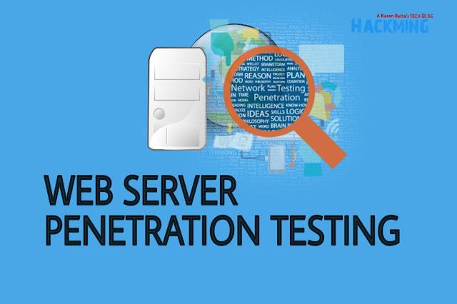 webserver penetration testing