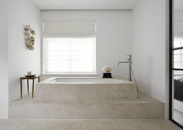 Modern luxury bathroom minimal sophistication by Piet Boon