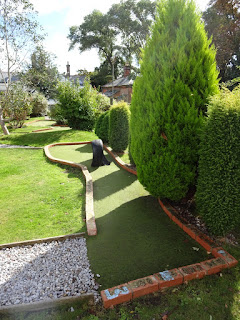 Crazy Golf at Puckpool Park in Ryde on the Isle of Wight