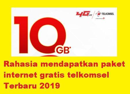 Rahasia-mendapatkan-paket-internet-gratis-telkomsel-Terbaru-2019
