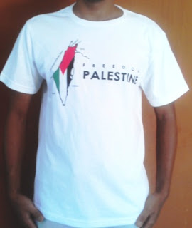 Jual kaos freedom palestina