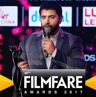 64th Film fare Awards South 2017 -Telecast on Asianet on 6th August 2017 | Winners List