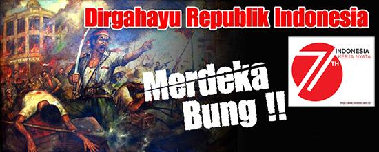 Download Logo HUT Kemerdekaan Republik Indonesia Ke 71