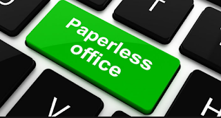 Go Green Paperless one line quotes email signature