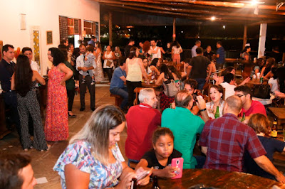 Concorrida e prestigiada, festa da posse da AJOV foi realizada no Bantchá, em Registro-SP