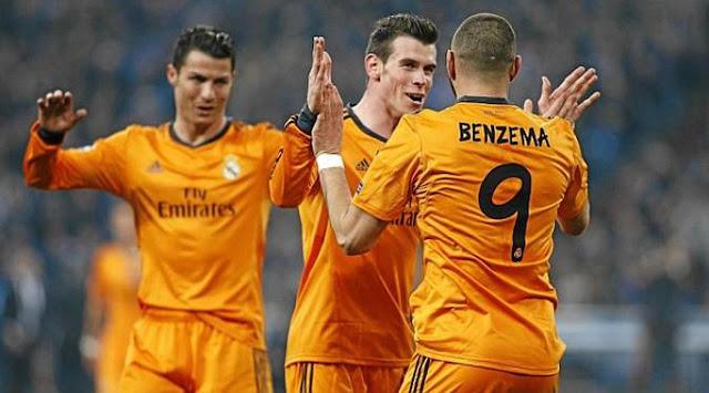 Ronaldo Minta Trio BBC Real Madrid Diganti CIA
