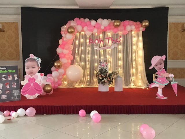 Trang trí sinh nhật tại Hà Đông