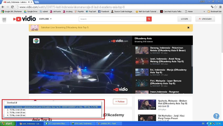 Cara Download Video di Vidio.com - MYM Pages