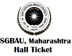 Sant Gadge Baba Amravati University Exam Hall Ticket 2017