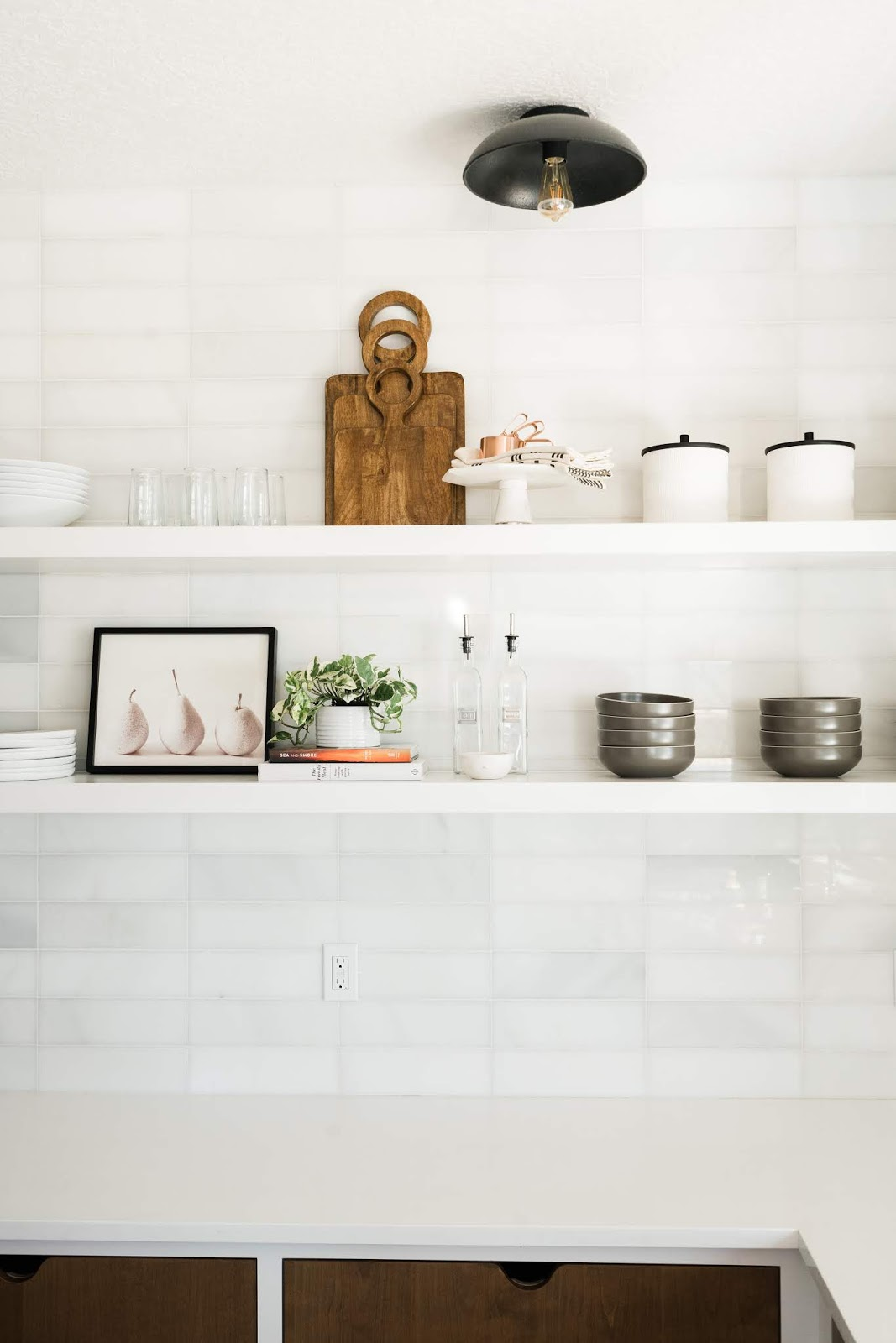 Open Kitchen Shelving, Butlers Pantry