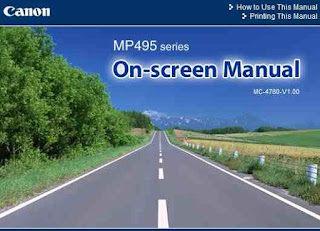 Canon PIXMA MP495 Manual