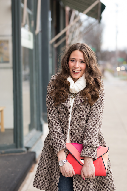 Preppy new england winter outfit