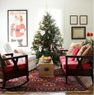 decorar el árbol de navidad con manualidades