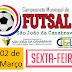 Campeonato de Futsal começa na próxima sexta (02)