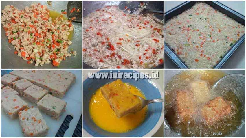 Resep Misoa Goreng Ayam Wortel. Camilan Sehat dan Praktis